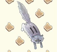 Toaster the Cat by Tim Gorichanaz