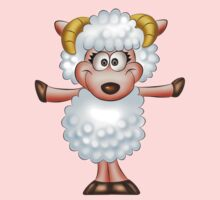 Cute sheep - Year of the Sheep 2015 Kids Clothes