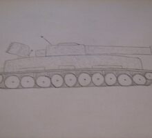 tank drawing by samgraffiti