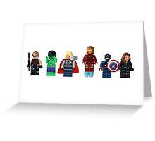 LEGO Avengers Greeting Card