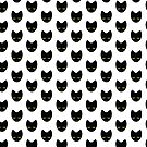 Unimpressed cat! angry black cat cross by jazzydevil
