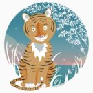 Tiger in the wild T-Shirt by oksancia