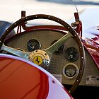 1950 Ferrari 212 F1 Interior by Andre Gascoigne