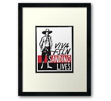 Sandino Lives! Framed Print