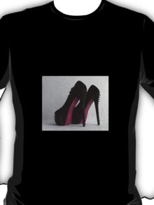 Ladies Shoes T-Shirt