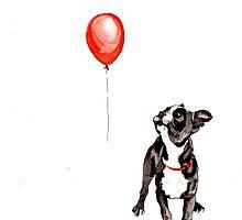 Boston Vs. Balloon by HCookdraws