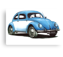 1954 Volkswagon Beetle Canvas Print
