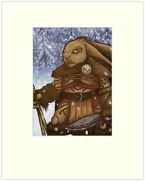 Stone Age Rabbit by curua