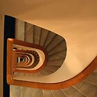 Stare down the stairs by Paul Wilkin