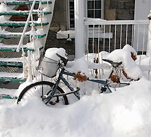 Montreal - Snow bike by Jean-Luc Rollier