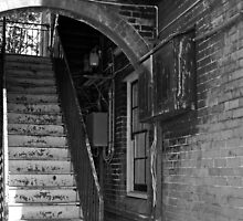 Rustic Staircase by David Heckenberg