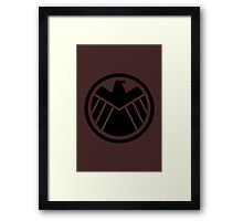 Agents of S.H.I.E.L.D Level 7 Framed Print