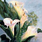 Calli Lillies by Sarah Jurgens