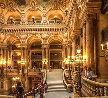 Opera House, Paris 4 by John Velocci