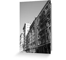 Escape From Old New York  Greeting Card