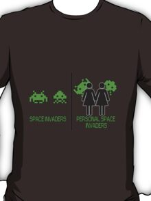 Personal Space Invaders (GG) T-Shirt