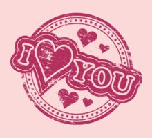 Sweet I Love You Sayings Kids Clothes