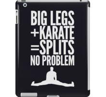 BIG LEGS + KARATE iPad Case/Skin