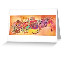 THE SAXOPHONE Greeting Card