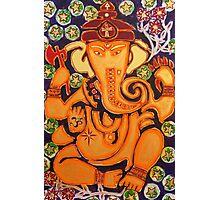 Ganesha- Elephant Power Photographic Print