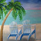 Poppy's Palm Trees by Marita McVeigh
