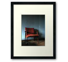 'The chair' Framed Print