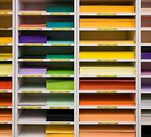 Multicolored papers by dominiquelandau