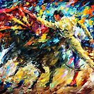 Corrida — Buy Now Link - www.etsy.com/listing/221800940 by Leonid  Afremov