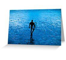 The Water Walk Greeting Card