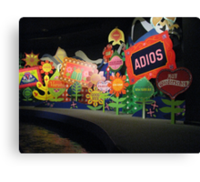 It's A Small World Disney World Canvas Print