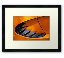 The art of the car: Lotus Elise (2005) Framed Print