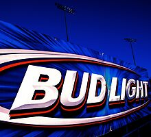 BUDLIGHT BILLBOARD AT MINOR LEAGUE FIELD by Daniel Sorine