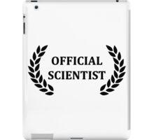 Official scientist iPad Case/Skin