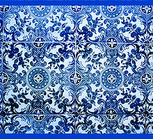 THE TILED WALLS OF PORTUGAL. ALBUFEIRA by Daniel Sorine