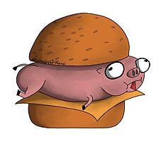 The True Hamburger by AlexanderKane