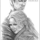 Peter & Claire - HEROES by teelecki
