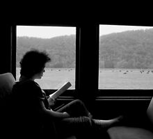 """""""Lady on the Train"""" by Clayton  Turner"""