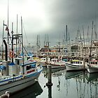 Fishing Boats - San Francisco, CA by Andrei I. Gere