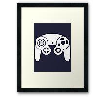 Nintendo GameCube White Framed Print
