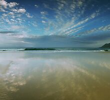 Fish Hoek Beach  by louishiemstra