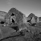 Glendalough church ruins by John Quinn