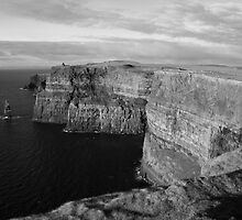 Cliffs of Moher by John Quinn