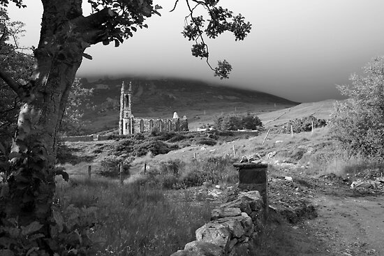 Dunlewey church by John Quinn