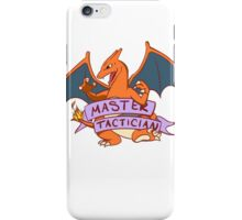 Master Tactician Charizard iPhone Case/Skin