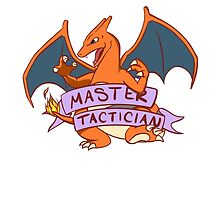 Master Tactician Charizard by cheryldesigns