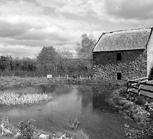 Bunratty Folk Park mill by John Quinn