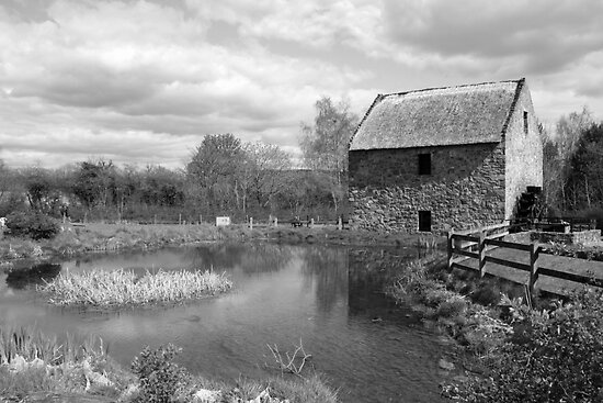 Bunratty Folk Park mill by John Quinn