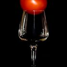 a glass of red by anupsids