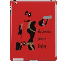Merc with a mouth iPad Case/Skin