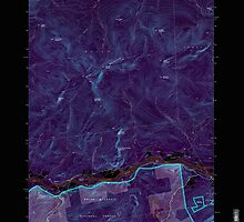 Maine USGS Historical Map Gilead 105159 1995 24000 Inversion by wetdryvac
